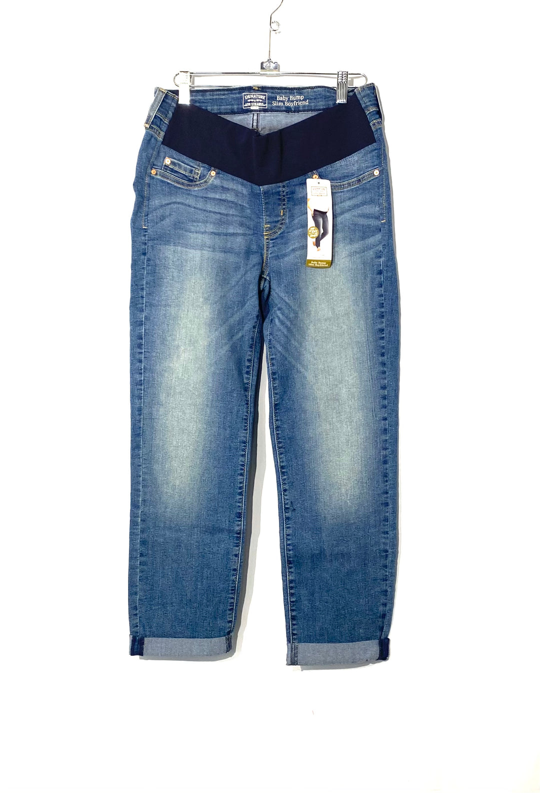 Primary Photo - BRAND: LEVIS <BR>STYLE: MATERNITY JEANS <BR>COLOR: DENIM <BR>SIZE: S <BR>SKU: 262-26275-71619<BR>MATERNITY FINAL SALE