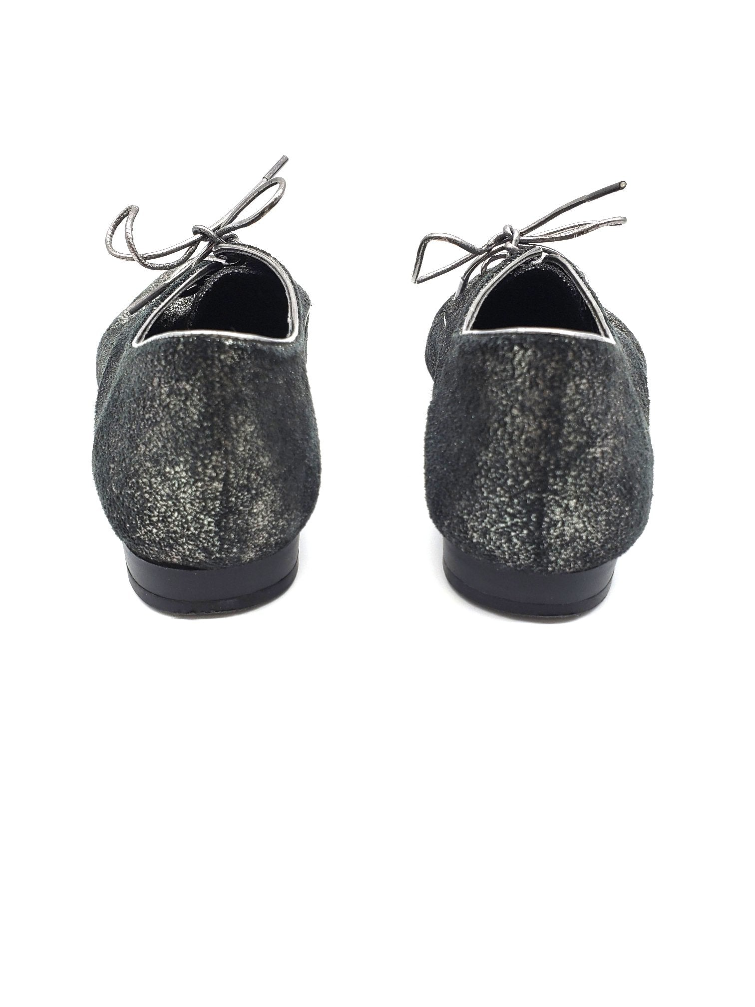 Photo #2 - BRAND: BCBGENERATION <BR>STYLE: SHOES FLATS <BR>COLOR: SPARKLES <BR>SIZE: 6.5 <BR>SKU: 262-26241-41758<BR>AS IS <BR>