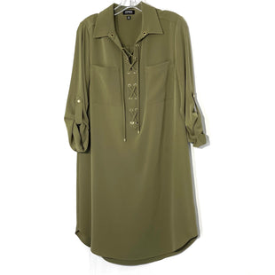 Primary Photo - BRAND: JONES NEW YORK STYLE: DRESS SHORT LONG SLEEVE COLOR: OLIVE SIZE: M SKU: 262-26275-73764