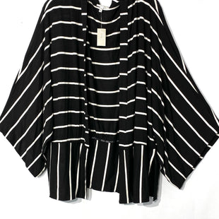 Primary Photo - BRAND: MAURICES STYLE: TOP SHORT SLEEVE CARDIGANCOLOR: STRIPED SIZE: XXL SKU: 262-26275-678604% SPANDEX