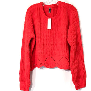 Primary Photo - BRAND: ALYA STYLE: SWEATER LIGHTWEIGHT COLOR: RED SIZE: L SKU: 262-26275-75295