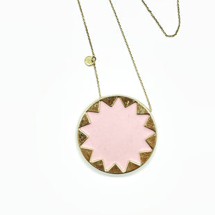 Primary Photo - BRAND: HOUSE OF HARLOW STYLE: NECKLACE COLOR: LIGHT PINK OTHER INFO: AS IS SLIGHT SCRATCHES SKU: 262-26241-47882