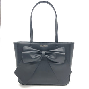 "Primary Photo - BRAND: KARL LAGERFELD STYLE: HANDBAG DESIGNER COLOR: BLACK SIZE: MEDIUM 11""H X 13.2""L X 4""WDROP: 10.5""SKU: 262-26211-142506IN GREAT SHAPE AND CONDITION"
