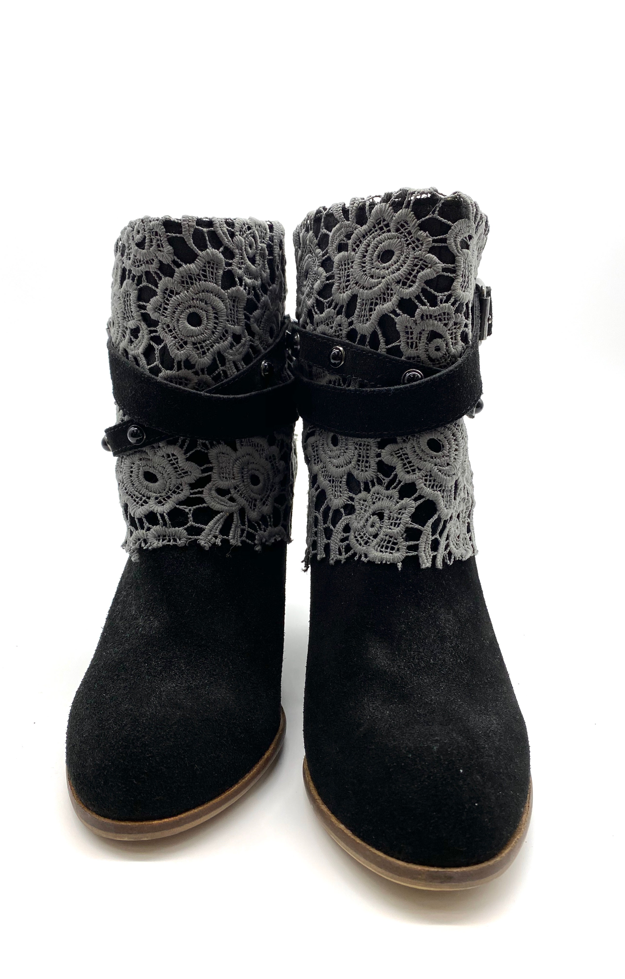 Photo #4 - BRAND: NAUGHTY MONKEY <BR>STYLE: BOOTS ANKLE <BR>COLOR: BLACK <BR>SIZE: 8 <BR>SKU: 262-26275-59177