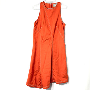 Primary Photo - BRAND: MAEVE ANTHROPOLOGIE STYLE: DRESS SHORT SLEEVELESS COLOR: ORANGE SIZE: S SKU: 262-26275-7470039% COTTON14% LINEN