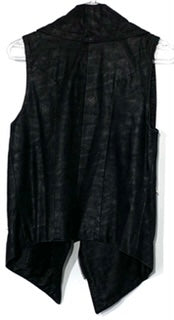 Photo #1 - BRAND:    FATE<BR>STYLE: VEST <BR>COLOR: BLACK <BR>SIZE: S <BR>OTHER INFO: FATE - <BR>SKU: 262-26241-43020<BR>LEATHER LOOK<BR>