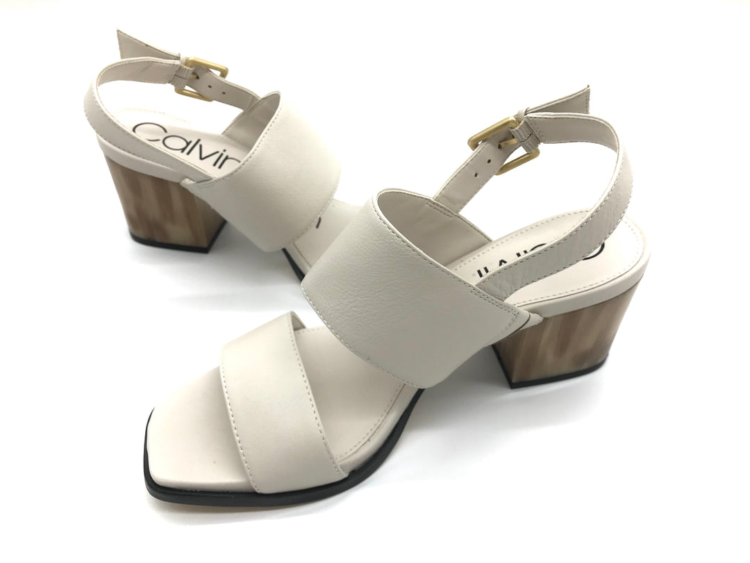 Photo #2 - BRAND: CALVIN KLEIN <BR>STYLE: SANDALS LOW <BR>COLOR: BEIGE <BR>SIZE: 7 <BR>SKU: 262-26275-64396<BR>LIKE NEW CONDITION - AS IS