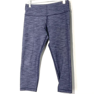 Primary Photo - BRAND: LULULEMON STYLE: ATHLETIC CAPRIS COLOR: BLUESIZE: 6 SKU: 262-262101-2340GENTLEST FADE AND PILLING AS IS