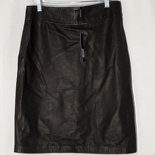 Primary Photo - BRAND: ELIE TAHARI STYLE: SKIRT COLOR: LEATHER BALSAMIC SIZE: M /10SKU: 262-26241-46903100% SOFT LEATHER DESIGNER FINAL
