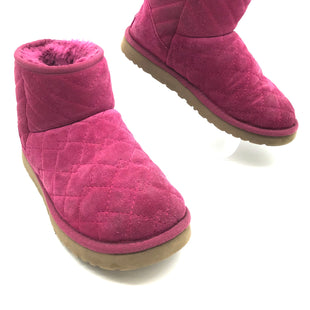 Primary Photo - BRAND: UGG STYLE: BOOTS ANKLE COLOR: HOT PINK SIZE: 7 SKU: 262-26275-52386WEAR - AS IS