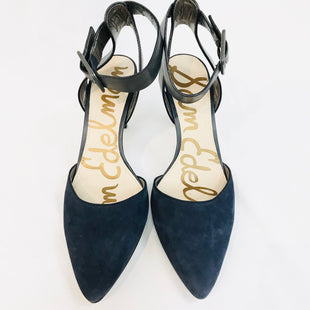 Primary Photo - BRAND: SAM EDELMAN STYLE: SANDALS LOWCOLOR: NAVY SIZE: 7.5 SKU: 262-26275-58471AS IS