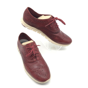 Primary Photo - BRAND: COLE-HAAN STYLE: SHOES FLATS COLOR: RED SIZE: 9.5 SKU: 262-26275-75643GENTLE WEAR - AS IS
