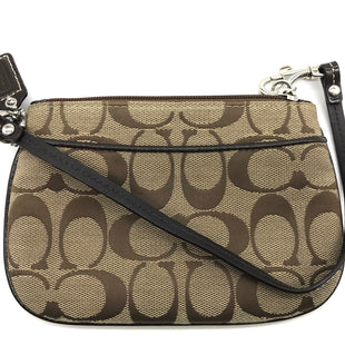 "Primary Photo - BRAND: COACH STYLE: WRISTLET COLOR: MONOGRAM SKU: 262-26275-67582APPROX. 6.25"" L X 4.25"" H. GREAT CONDITION"