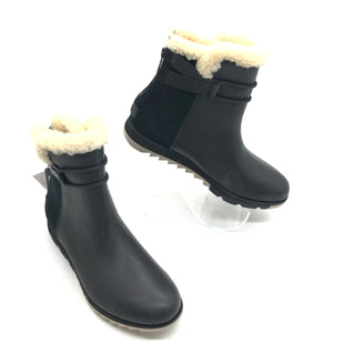 Primary Photo - BRAND: SOREL STYLE: WMN'S HARLOW COZY BOOTIESCOLOR: BLACK SIZE: 7.5 SKU: 262-26241-44731
