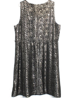 Photo #1 - BRAND: LANE BRYANT <BR>STYLE: DRESS SHORT SLEEVELESS <BR>COLOR: METALLIC <BR>SIZE: 2X/20<BR>SKU: 262-26211-128259