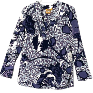 Primary Photo - BRAND: TORY BURCH STYLE: TOP LONG SLEEVE COLOR: PURPLESIZE: XS /0SKU: 262-26275-77653100% SILKDESIGNER FINAL