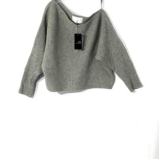 Primary Photo - BRAND: JOA STYLE: SWEATER LIGHTWEIGHT COLOR: GREY SIZE: XS SKU: 262-26275-73533CROPPED STYLE COLD SHOULDER STYLE50% WOOL