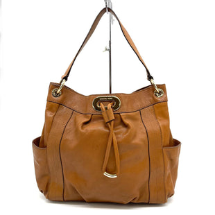 "Primary Photo - BRAND: MICHAEL KORS STYLE: HANDBAG DESIGNER COLOR: BROWN SIZE: 11""H X 15""L X 5""WSTRAP: 7.5""SKU: 262-26211-143852IN GREAT SHAPE AND CONDITION"