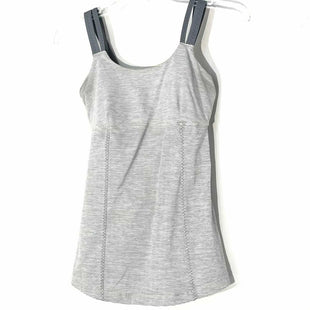 Primary Photo - BRAND: LULULEMON STYLE: ATHLETIC TANK TOP COLOR: GREY SIZE: 6 SKU: 262-26211-144702