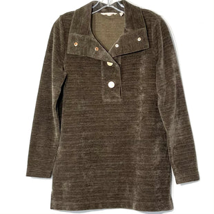 Primary Photo - BRAND: SOFT SURROUNDINGS STYLE: SWEATER LIGHTWEIGHT COLOR: BROWNSIZE: S SKU: 262-26275-76274