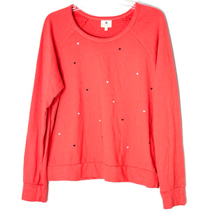 Primary Photo - BRAND: SUNDRY STYLE: TOP LONG SLEEVE BASIC COLOR: RED SIZE: 3/LSKU: 262-26211-144823SMALL INK SPOT BACK SEE PIC AS IS