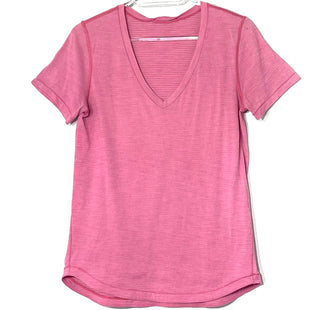 Primary Photo - BRAND: LULULEMON STYLE: ATHLETIC TOP COLOR: LIGHT PINK SIZE: M SKU: 262-26275-75840GENTLE WEAR AS IS SIZE TAG MISSING AS IS