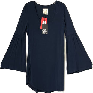 Primary Photo - BRAND: CHASER STYLE: DRESS SHORT LONG SLEEVE COLOR: NAVY SIZE: S SKU: 262-26275-76469