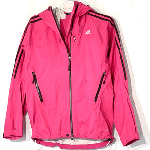 Primary Photo - BRAND: ADIDAS STYLE: JACKET OUTDOOR COLOR: PINK SIZE: M/10SKU: 262-262101-2721SIZE FOR US NOT VISIBLE AS IS NO GUARANTEES OF FIT NYLON