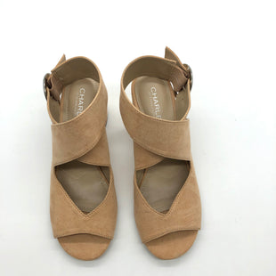 Primary Photo - BRAND: CHARLES BY CHARLES DAVID STYLE: SANDALS LOW COLOR: TAN SIZE: 6.5 SKU: 262-26241-47187