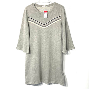 Primary Photo - BRAND: PLEIONE STYLE: DRESS SHORT SHORT SLEEVE COLOR: GREY SIZE: M SKU: 262-26211-139500
