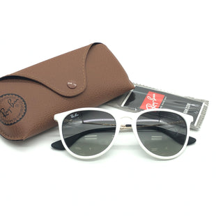 Primary Photo - BRAND: RAY BAN STYLE: SUNGLASSES COLOR: WHITE SKU: 262-26241-44530IN EXCELLENT SHAPE AND CONDITION