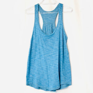 Primary Photo - BRAND: LULULEMON STYLE: ATHLETIC TANK TOP COLOR: BLUESIZE: S SKU: 262-26275-74393SIZE TAG MISSING AS IS