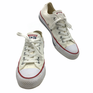 Primary Photo - BRAND: CONVERSE STYLE: SHOES ATHLETIC COLOR: WHITE SIZE: 6.5 OTHER INFO: SLIGHT MARKS AS IS SKU: 262-26241-48309AS IS MARKS AND WEAR (SEE PHOTOS)