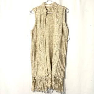 Primary Photo - BRAND: CHICOS STYLE: VEST COLOR: BEIGE SIZE: S /0SKU: 262-26275-74632