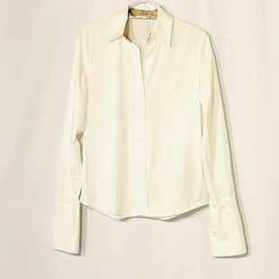 Primary Photo - BRAND: BURBERRY LONDONSTYLE: TOP LONG SLEEVE COLOR: OFF WHITE SIZE: S SKU: 262-26275-74418FRENCH CUFF STYLE
