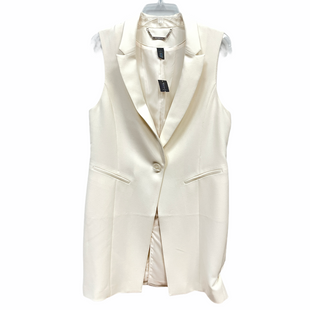 Primary Photo - BRAND: WHITE HOUSE BLACK MARKET STYLE: VEST COLOR: WHITE SIZE: M SKU: 262-262101-3278
