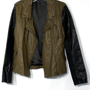 Primary Photo - BRAND: BLANKNYC STYLE: JACKET OUTDOOR COLOR: OLIVE SIZE: S SKU: 262-26275-69890LEATHER LOOK