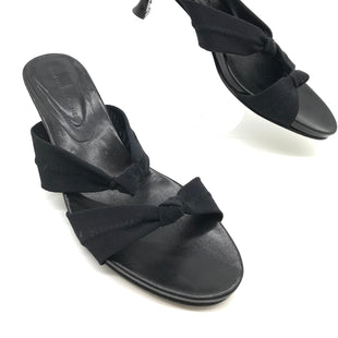 Primary Photo - BRAND: DONALD J PILNER STYLE: SANDALS LOW COLOR: BLACK SIZE: 8 SKU: 262-262101-1910SLIGHT SCUFFING ON THE OUTSOLES • OVERALL IN GOOD SHAPE AND CONDITION •