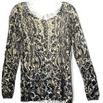 Primary Photo - BRAND: CHICOS <BR>STYLE: TOP LONG SLEEVE <BR>COLOR: SNAKESKIN PRINT <BR>SIZE: M /1<BR>SKU: 262-26275-75797