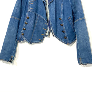 Primary Photo - BRAND: FREE PEOPLE STYLE: JACKET OUTDOOR COLOR: DENIM SIZE: S SKU: 262-26275-67693