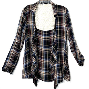 Primary Photo - BRAND: HEM & THREAD STYLE: TOP LONG SLEEVE COVERCOLOR: PLAID SIZE: S SKU: 262-26241-41716