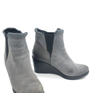 Primary Photo - BRAND: SOREL STYLE: BOOTS ANKLE COLOR: GREY SIZE: 10.5 SKU: 262-26275-73726GENTLE WEAR • FOOT BED NEEDS TO BE ATTACHED •