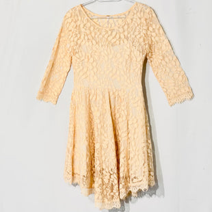 Primary Photo - BRAND: FREE PEOPLE STYLE: DRESS SHORT SHORT SLEEVE COLOR: PEACH SIZE: S /6SKU: 262-26241-44733