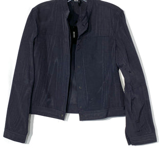 Primary Photo - BRAND: HUGO BOSS STYLE: BLAZER JACKET COLOR: BLACK SHEENSIZE: M /8SKU: 262-26275-68255DESIGNER FINAL SIZE TAG LOOSE STRING AS IS 53% COTTON