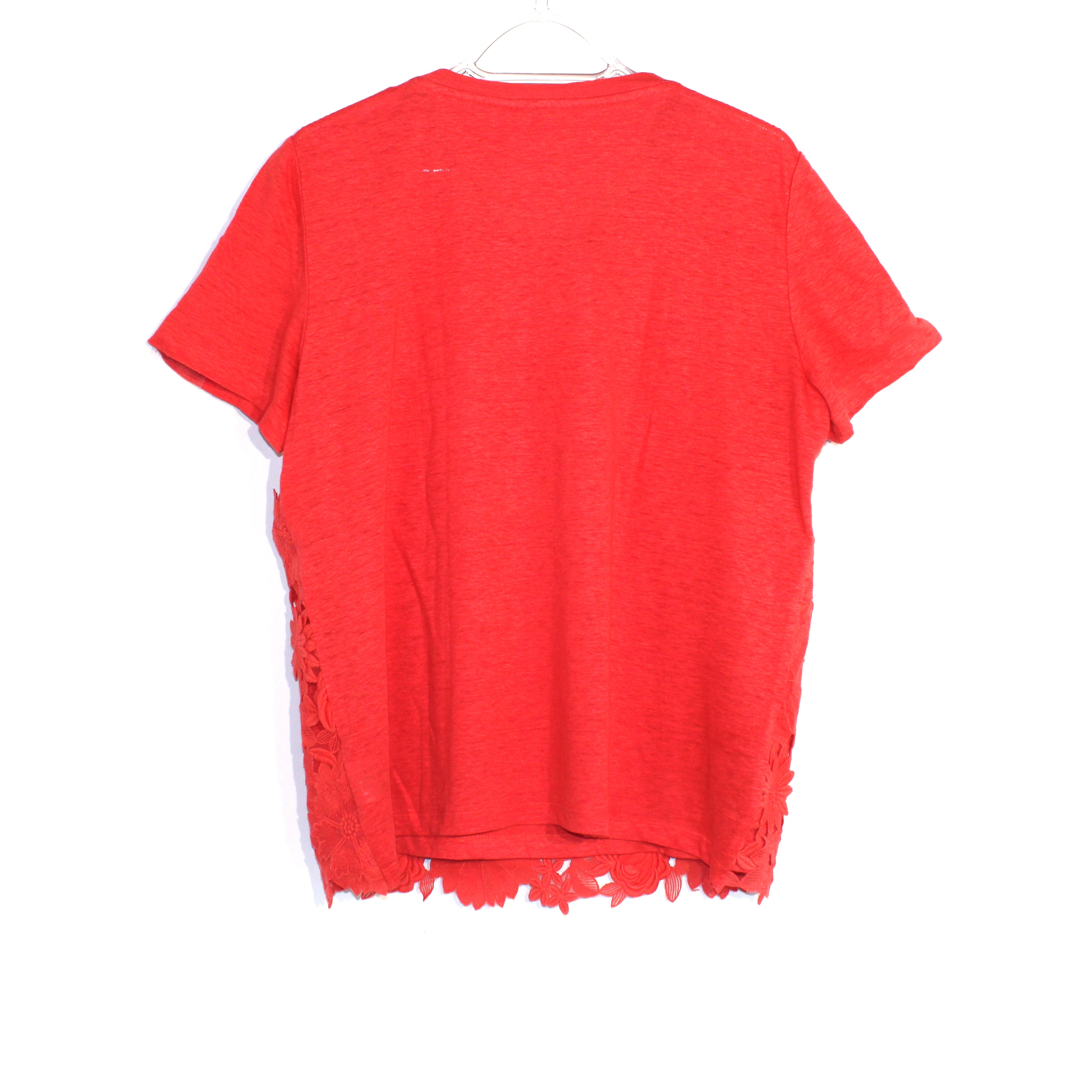 Photo #1 - BRAND: TORY BURCH <BR>STYLE: TOP SHORT SLEEVE <BR>COLOR: FLORAL <BR>SIZE: L <BR>SKU: 262-26211-139027
