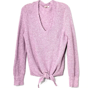 Primary Photo - BRAND: MOTH ANTHROPOLOGIE STYLE: SWEATER LIGHTWEIGHT COLOR: LILAC SIZE: M SKU: 262-26275-78249