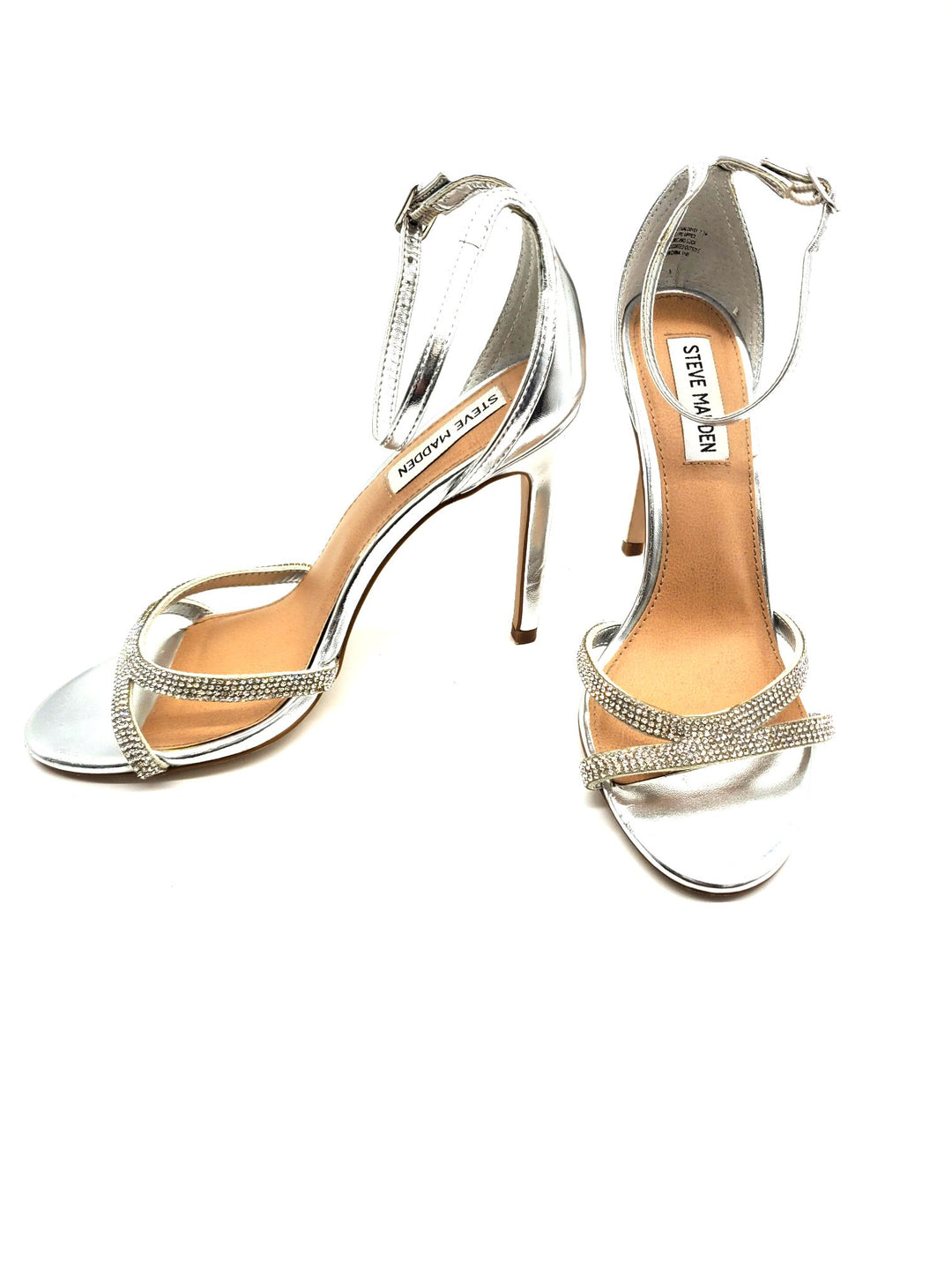 Photo #1 - BRAND: STEVE MADDEN <BR>STYLE: SANDALS LOW <BR>COLOR: SPARKLES <BR>SIZE: 7.5 <BR>SKU: 262-26275-63732<BR>AS IS