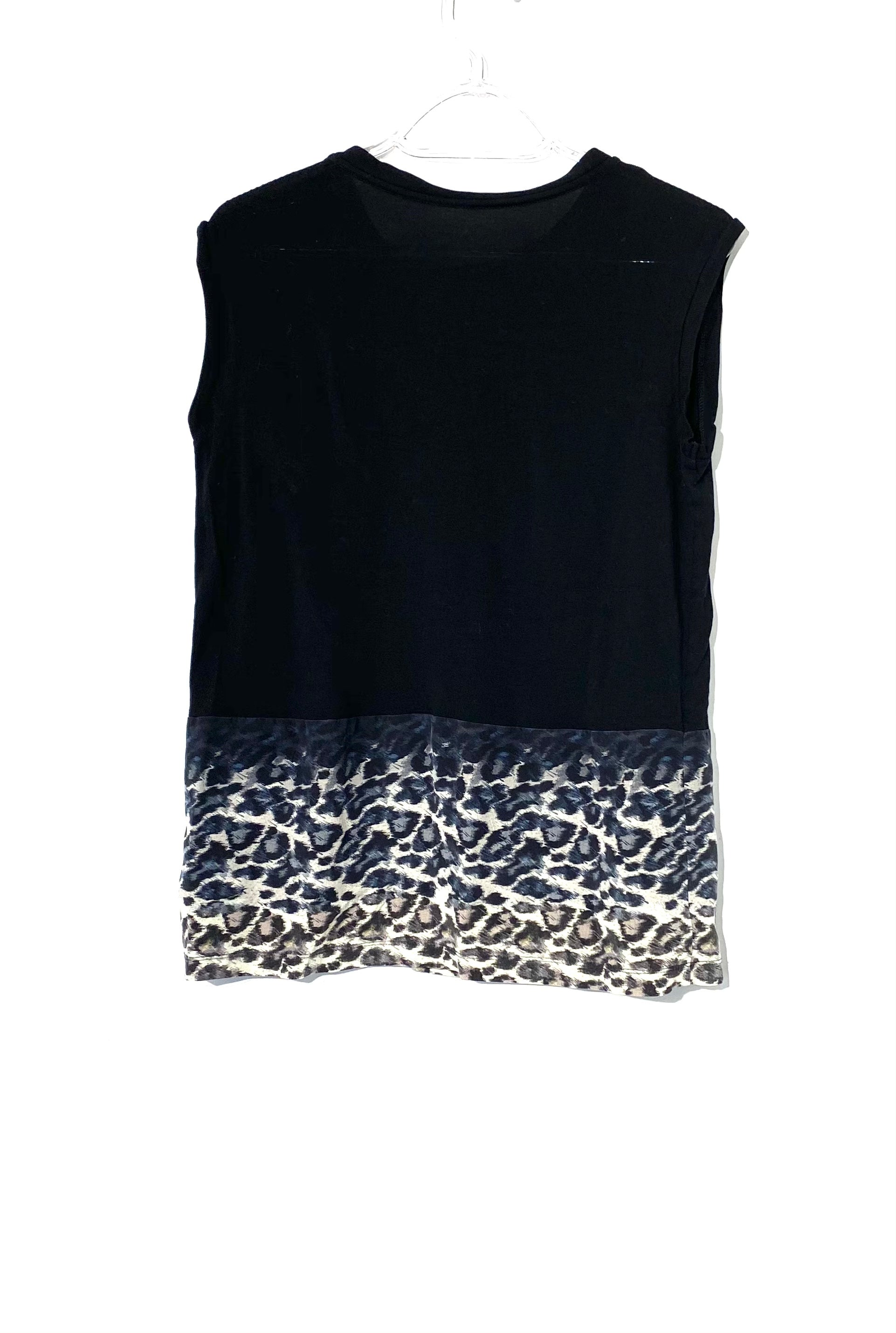 Photo #1 - BRAND: ALL SAINTS <BR>STYLE: TOP SLEEVELESS <BR>COLOR: ANIMAL PRINT <BR>SIZE: S <BR>SKU: 262-26275-71835