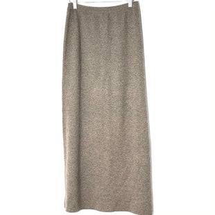 "Primary Photo - BRAND:    TSESTYLE: SKIRT COLOR: TAN SIZE: S/M OTHER INFO: TSE - 100% CASHMERE SKU: 262-26241-46930LONG LENGTH 13"" WAIST36"" LENGTH"