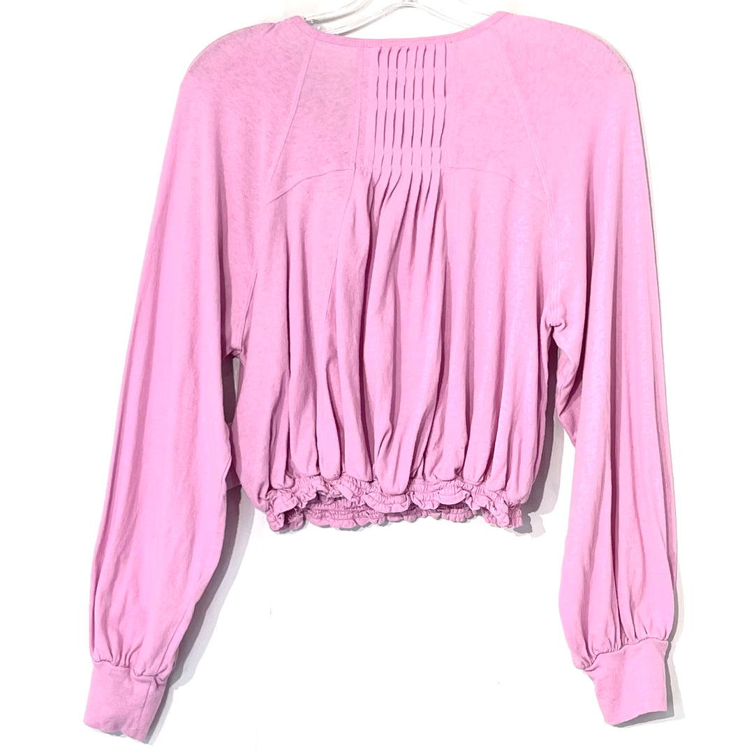 Photo #1 - BRAND: FREE PEOPLE <BR>STYLE: TOP LONG SLEEVE <BR>COLOR: LILAC<BR>SIZE: M <BR>SKU: 262-26275-66744
